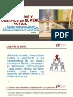 PPT Sesion 11 Conflicto Armado Interno