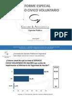 Informe Servicio Civico Voluntario JULIO 2019