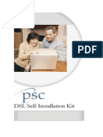 DSL Self Installation Guide
