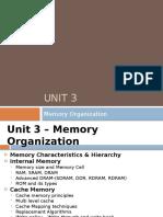 Unit 3_Memory Organization