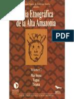 Guia Etnografica de La Alta Amazonia Vol UNO Santos Barclay Bellier Chaumeil Goulard