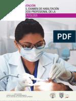 Guía de Orientación Para Rendir El Examen de Habilitación Para El Ejercicio Profesional de La Carrera de Odontología