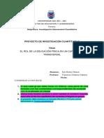 Formato Proyecto Cuantitativo 2019