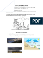 El Ciclo Hidrologico Trabajo Nro 1