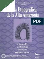 Guia Etnografica de La Alta Amazonia Vol TRES Santos Barclay Kensinger Dole Morin