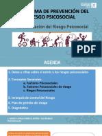 Programa de prevención del riesgo Psicosocial