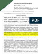 Modelo de Contrato de Arrendamiento de Local Comercial