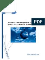 004.- Medidas de Dispersión y Asimetría.- CEDICAPED
