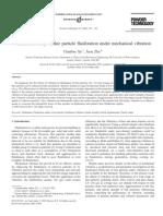 Estudio Parametrico de Particulas Finitas