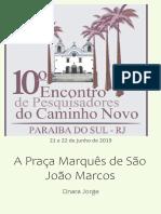A Praca de Sao Joao Marcos, de Paraíba do Sul