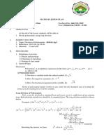 Division of Polynomials Long Division Lanton