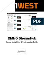 DMNG StreamHub. Server Installation & Configuration Guide. Document Version_ v4 Software Version_ v2.1.x 02_2016 Customer Services.pdf