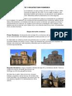 Arte y Arquitectura Romanica