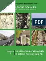 Economía Desde La Colonia al SXX