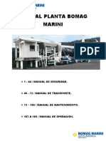 Manual Planta Bomag Marini - 1 a 165