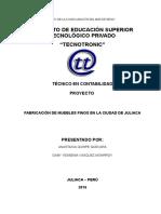 FABRICACIÓN DE MUEBLES FINOS.doc