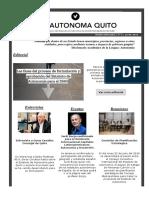 Boletín informativo Nº2 de Vía Autónoma