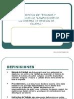 Descripción SGC (Proced.) 23-09-2010