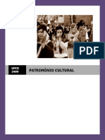 Manual Ufcd 3499 - Património Cultural