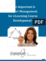 Projectmanagement Elearning Course Commlab
