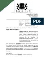 Apersonamiento Caso Nº 575-2019 - Von Humbolt