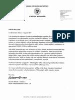 2019-07-22 Bennett Press Release