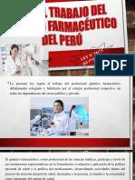 trabao del quimico farmaceutico del peru
