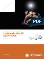Folleto de Luminarias LED Marca LEDVANCE Julio 2018