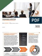 Certificacion SGS Gestión Integrada de Gestion.
