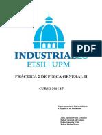 FGII P2 Relación carga-masa del electrón 16-17