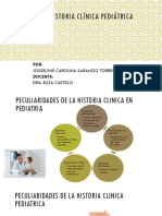 Construccion de La Historia Clínica Pediátrica