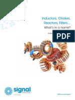 Inductors, Chokes, Reactors, Filter