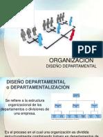 Organizacion Diseño Departamental