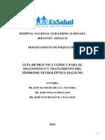 Guía de Práctica Clínica Para El Diagnóstico y Tratamiento Del Síndrome Neuroléptico Maligno