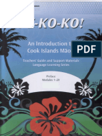 I-E-Ko-Ko An Introduction to Cook Islands Māori (5)