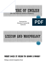 Ppt1_ Structure of English