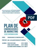 Leche Evaporada Gloria Plan de Comunicaciones de Marketing