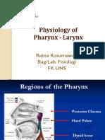 Physiology of Pharynx-Larynx