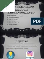INSTAGRAM COMO MEDIO DE EMPRENDIMIENTO.pptx