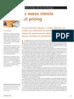 CIENCIA DEL PRICING