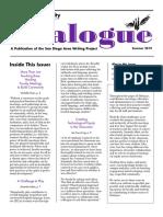 Dialogue Summer 2019
