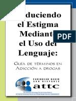 Terminologia- Reduciendo El Estigma Mediante El Uso Del Lenguaje