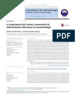 La Importancia Del Control y Prevención de Infecciones