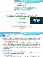 Boiler Constr Details
