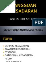 K12 - Bahan Kuliah Gangguan Kesadaran.pptx