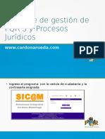 Software de gestión de PQRS