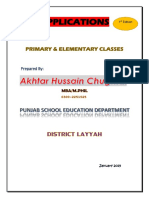 Applications_Primary & Elementary