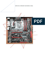 Placa madre y componentes de un ordenador reconocidos en clase.docx