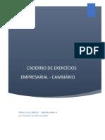 Caderno de Exercicios Cambiario 1 2019