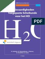 Basisvaardigheden Toegepaste Scheikunde Voor Het Ho t. Van Den Broeck
